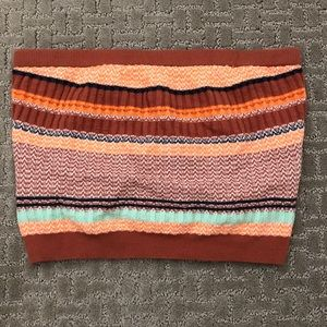 Aerie Ribbed Striped Tube Top